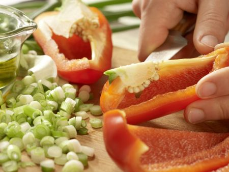 Rucola-Mango-Salat: Zubereitungsschritt 3