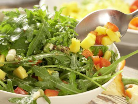 Rucola-Mango-Salat: Zubereitungsschritt 6