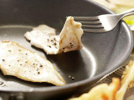 Rucola-Mango-Salat: Zubereitungsschritt 7