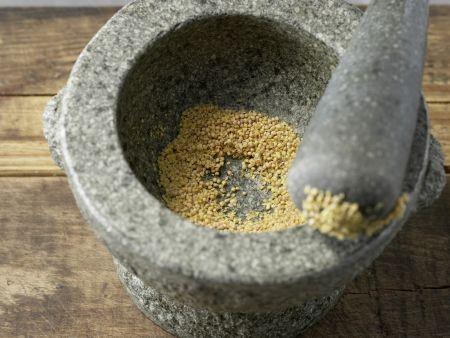 Rucola-Marinade: Zubereitungsschritt 2
