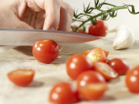 Rucola-Penne: Zubereitungsschritt 1