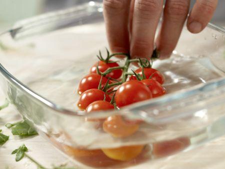Rumpsteak mit Tomaten: Zubereitungsschritt 2
