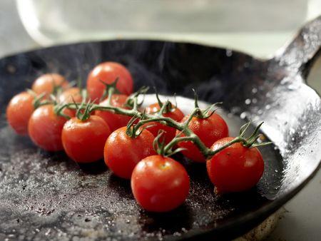 Rumpsteak mit Tomaten: Zubereitungsschritt 6
