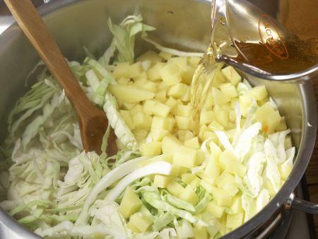 """Russische Kohlsuppe """"Borschtsch"""" – smarter: Zubereitungsschritt 6"""