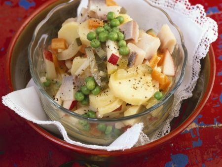 Russischer Kartoffel-Herings-Salat