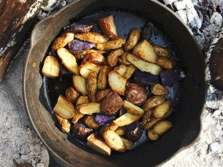 Rustikale Bratkartoffeln