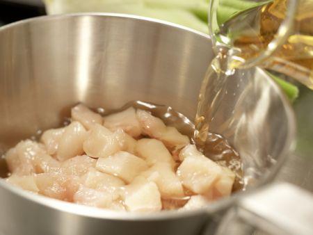 Safran-Gemüse-Suppe: Zubereitungsschritt 3