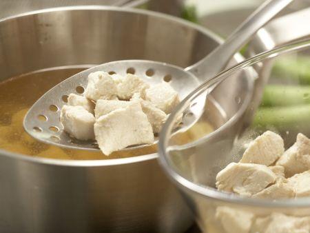 Safran-Gemüse-Suppe: Zubereitungsschritt 4
