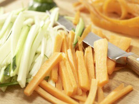 Safran-Gemüse-Suppe: Zubereitungsschritt 5