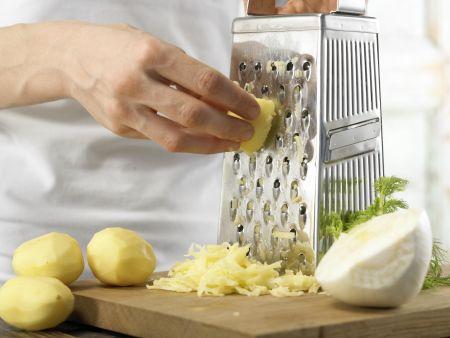 Saftige Kartoffelbrötchen: Zubereitungsschritt 1