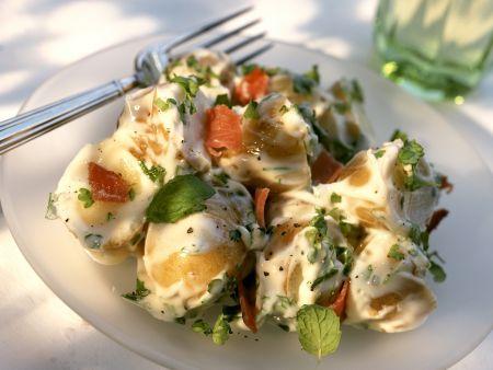 Sahnekartoffeln mit Schinken