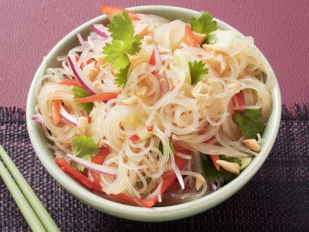 Rezept: Salat aus Glasnudeln