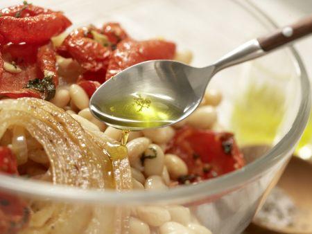 Salat von weißen Bohnen: Zubereitungsschritt 8
