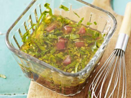 Salatdressing mit Bärlauch