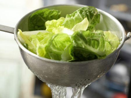 Salatschüssel mit Fenchel: Zubereitungsschritt 5