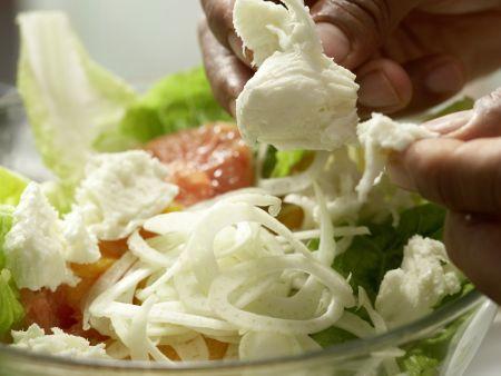 Salatschüssel mit Fenchel: Zubereitungsschritt 7