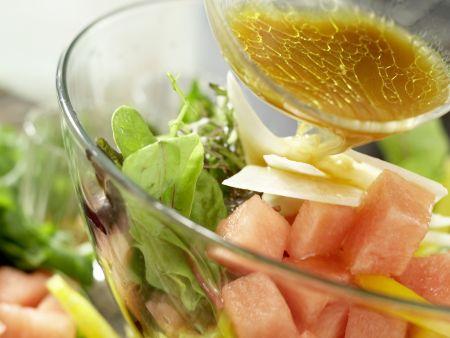 Salatschüssel mit Wassermelone: Zubereitungsschritt 6