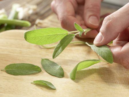 Salbei-Gemüse-Gnocchi: Zubereitungsschritt 2