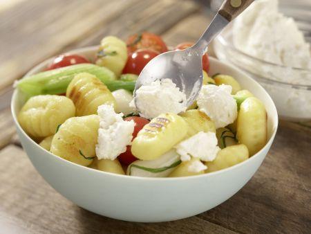 Salbei-Gemüse-Gnocchi: Zubereitungsschritt 6