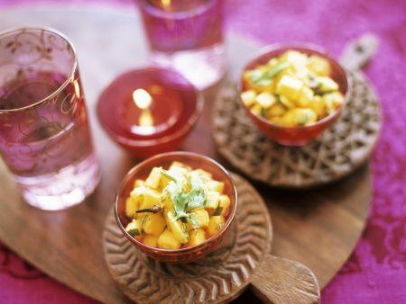Salsa aus Mango