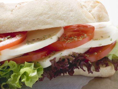 "Sandwich ""Caprese"""