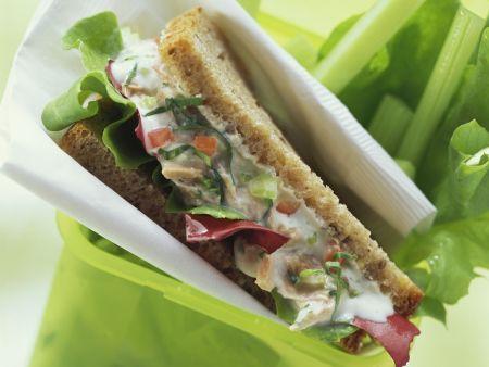 Sandwich mit Thunfisch