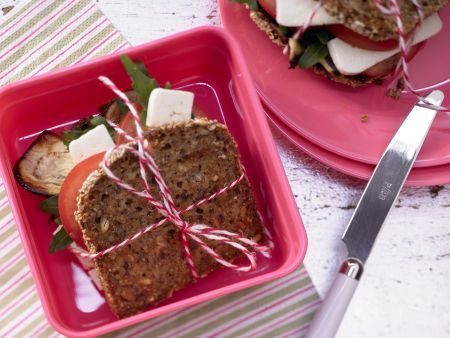 Sandwich mit Schafskäse