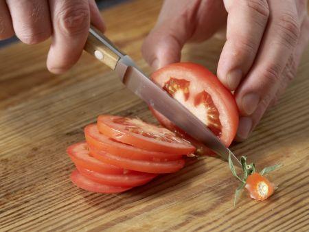 Sandwich mit Schafskäse: Zubereitungsschritt 3
