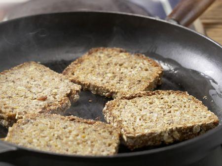 Sandwich mit Schafskäse: Zubereitungsschritt 4