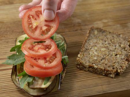 Sandwich mit Schafskäse: Zubereitungsschritt 6