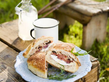 Sandwichs auf französische Art (Pan Bagnat)