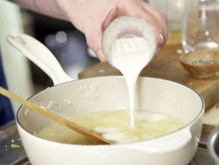 Sauerampfer-Cremesuppe: Zubereitungsschritt 6