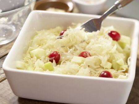 Sauerkraut-Apfel-Gratin: Zubereitungsschritt 3