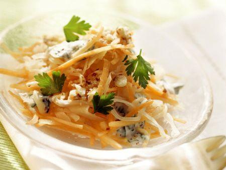 Sauerkraut-Karotten-Salat