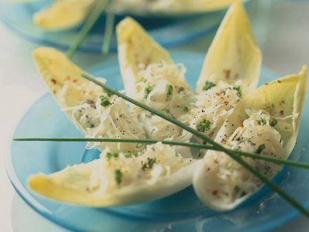 Sauerkrautsalat mit Chicorée