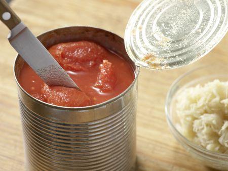 Sauerkrautsuppe mit Kassler: Zubereitungsschritt 5