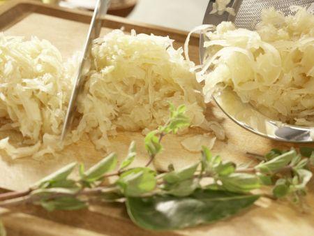 Sauerkrautsuppe: Zubereitungsschritt 3