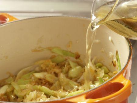 Sauerkrautsuppe: Zubereitungsschritt 6