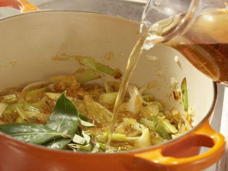 Sauerkrautsuppe: Zubereitungsschritt 7