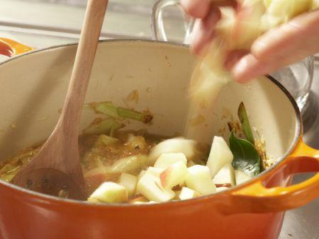 Sauerkrautsuppe: Zubereitungsschritt 8