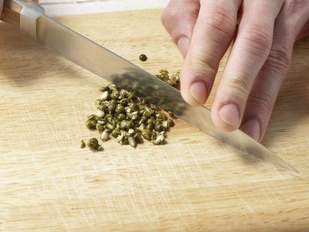 Schafskäse-Dip: Zubereitungsschritt 1