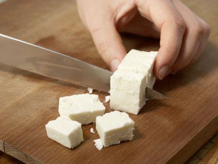 Schafskäse mit Gemüse: Zubereitungsschritt 2