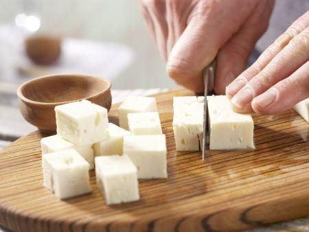 Schafskäsespieße: Zubereitungsschritt 2
