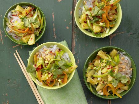 Rezept: Scharfe Gemüsenudeln