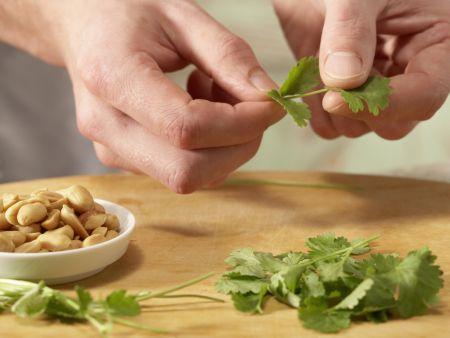 Scharfe Gemüsenudeln: Zubereitungsschritt 7