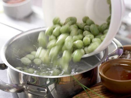 Scharfe Hähnchenrollen: Zubereitungsschritt 1