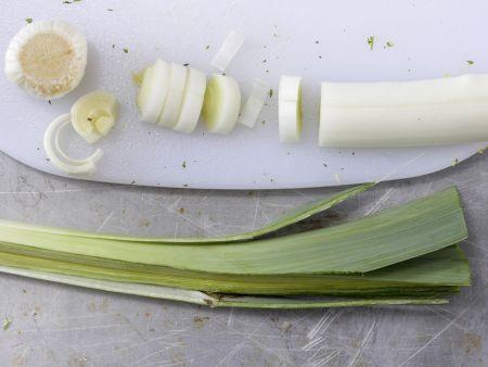 Scharfe Maissuppe: Zubereitungsschritt 1