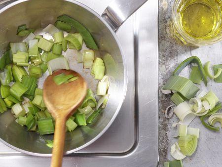 Scharfe Maissuppe: Zubereitungsschritt 3