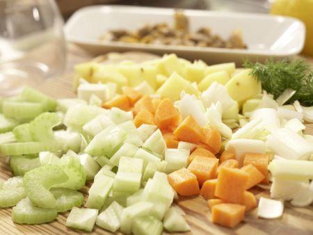 Scharfe Muschelsuppe: Zubereitungsschritt 6