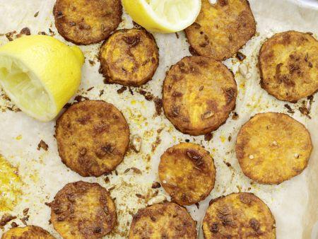 Scharfe Süßkartoffeln vom Blech
